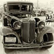 1931 Chrysler Front View Art Print