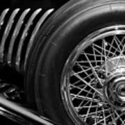 1931 Duesenberg Model J Spare Tire 2 Art Print