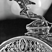 1931 Packard Convertible Victoria Hood Ornament 2 Art Print