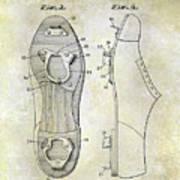 1932 Baseball Cleat Patent Art Print