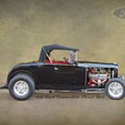 1932 Ford Convertible Street Rod Art Print