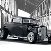 1932 Ford 'deuce' Coupe I Art Print