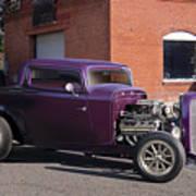 1932 Ford 'grape Soda' Coupe Art Print