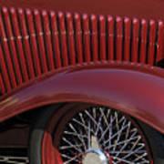 1932 Ford Hot Rod Wheel Art Print