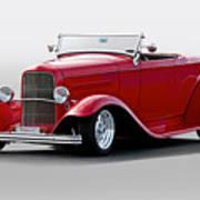 1932 Ford 'love Child' Roadster Art Print