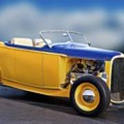 1932 Ford Roadster 'pass Side' L Art Print