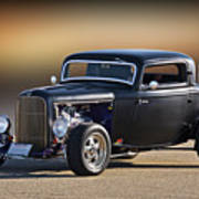 1932 Ford 'silky Satin' Coupe I Art Print