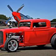1932 Ford 'three Window' Coupe Vx Art Print