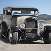 1932 Ford Tudor Sedan 'satin Doll' II Art Print