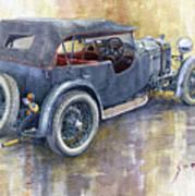 1932 Lagonda Low Chassis 2 Litre Supercharged  Art Print