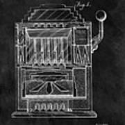 1932 Slots Patent Art Print