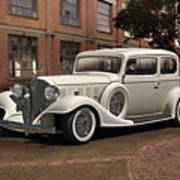 1933 Buick Victoria 'bootleg Beauty' Art Print