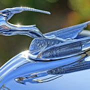 1933 Chrysler Imperial Hood Ornament 2 Art Print