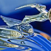 1933 Chrysler Imperial Hood Ornament Art Print