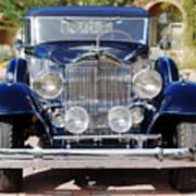 1933 Packard 12 Convertible Coupe Art Print by Jill Reger