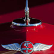 1933 Pontiac Hood Ornament 2 Art Print