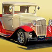1934 Ford '49'er' Pickup Art Print