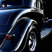 1934 Ford Coupe Rear Art Print