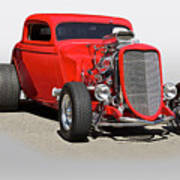 1934 Ford 'mean And Nasty' Coupe Art Print