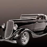 1934 Ford Roadster Art Print