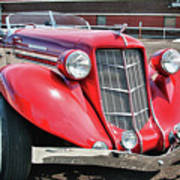 1935 Auburn Speedster 6870 Art Print