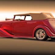 1935 Chevrolet Phaeton II  Art Print