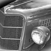 1935 Ford Sedan Grill Art Print