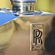 1935 Rolls-royce Phantom II Hood Ornament Print by Jill Reger
