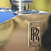 1935 Rolls-royce Phantom II Hood Ornament Art Print