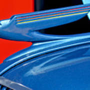 1936 Chevrolet Hood Ornament 2 Art Print