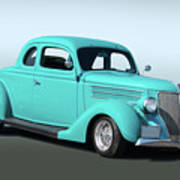 1936 Ford Coupe 1 Art Print
