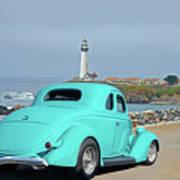1936 Ford Coupe 'shoreline' 1 Art Print