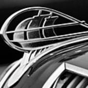 1936 Plymouth Sedan Hood Ornament 2 Art Print