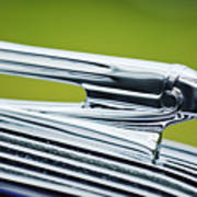 1936 Pontiac Hood Ornament 3 Art Print
