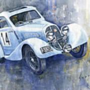 1937 Aero 750 Sport Coupe Art Print