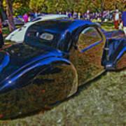 1937 Bugatti Type 57 S C Atalante Coupe Art Print