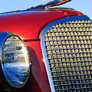 1937 Cadillac V8 Hood Ornament 2 Art Print