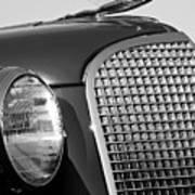 1937 Cadillac V8 Hood Ornament 3 Art Print by Jill Reger