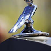 1937 Packard Limousine Hood Ornament Art Print