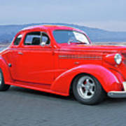 1938 Chevrolet 'all Business. Coupe Art Print