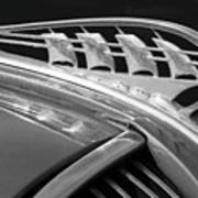 1938 Plymouth Hood Ornament 2 Art Print