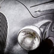1938 Talbot-lago 150c Ss Figoni And Falaschi Cabriolet Headlight - Emblem -1554ac Art Print