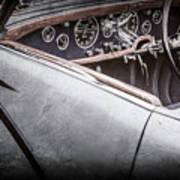 1938 Talbot-lago 150c Ss Figoni And Falaschi Cabriolet Steering Wheel -1561ac Art Print