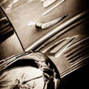 1939 Bugatti T57c Galibier -0298s Art Print