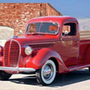 1939 Ford 'stake Bed' Pickup Truck I Art Print