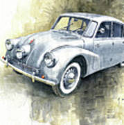 1939 Tatra T87  Art Print