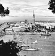 1939 Treasure Island View Art Print