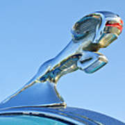 1940 Dodge Business Coupe Hood Ornament Art Print