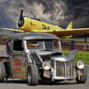 1940 Ford Rat Rod Pickup IIi Art Print