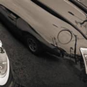 1940 Mercury Convertible Vintage Classic Car Photograph 5218.01 Art Print